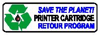 printer cartridge retour program